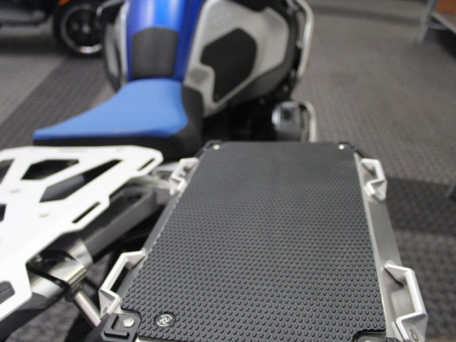 TechSpec Gripster Snake Skin Pannier Covers - Installed
