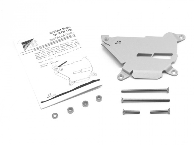 AltRider Clutch Side Engine Case Cover for the KTM 1290 Super Adventure - Product Contents