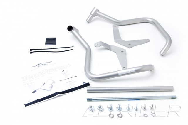 AltRider Crash Bars Kit for Ducati Multistrada 1200 - Product Contents