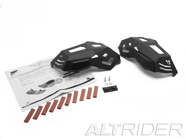 AltRider Cylinder Head Guards for the BMW R 1200 Water Cooled - Black - Product Contents