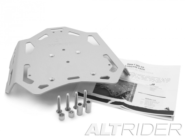 AltRider Luggage Rack for BMW F 800 GS /A - Silver - Product Contents