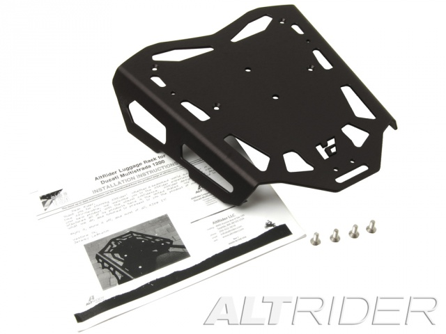AltRider Luggage Rack for Ducati Hyperstrada - Product Contents