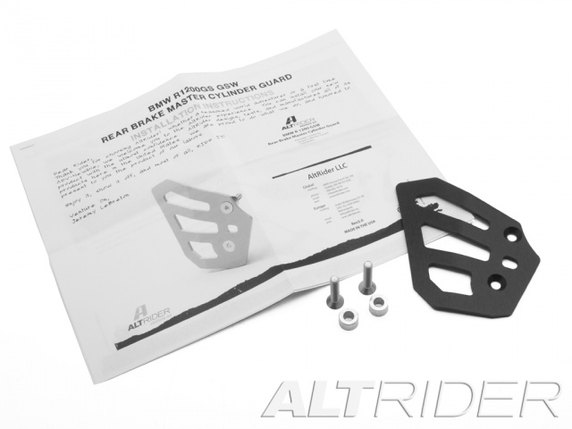 AltRider Protezione Pompa Freno Posteriore per BMW R 1200 GS Water Cooled - Product Contents