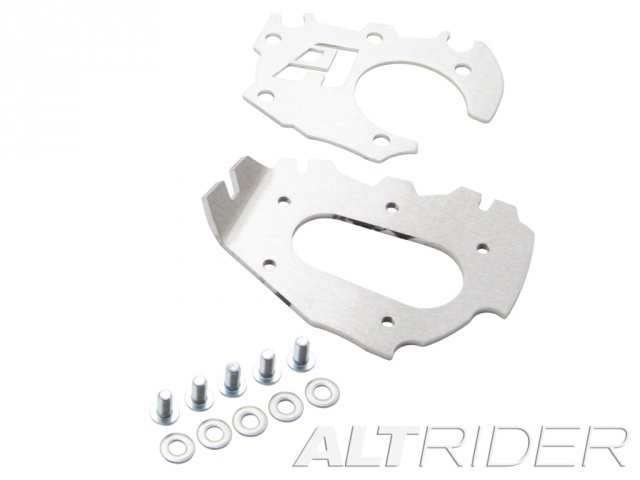 AltRider Side Stand Enlarger Foot for the BMW R 1200 & 1250 GS Adventure Water Cooled - Product Contents