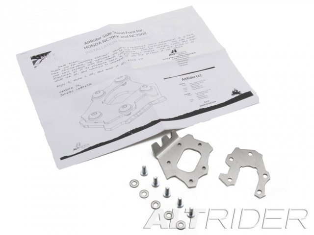AltRider Side Stand Foot for Honda NC700X - Product Contents