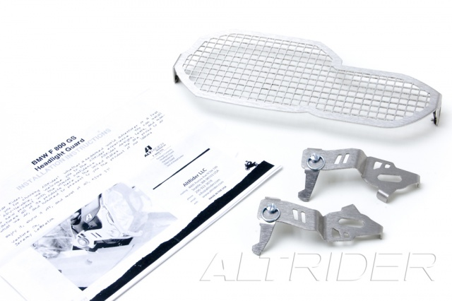 AltRider Stainless Steel Headlight Guard for the BMW F 650 / F 700 GS - Product Contents
