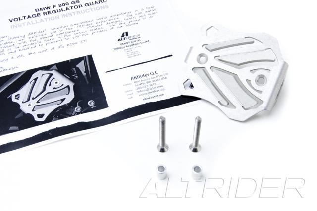 AltRider Voltage Regulator Guard for the Husqvarna TR650 Terra and Strada - Product Contents
