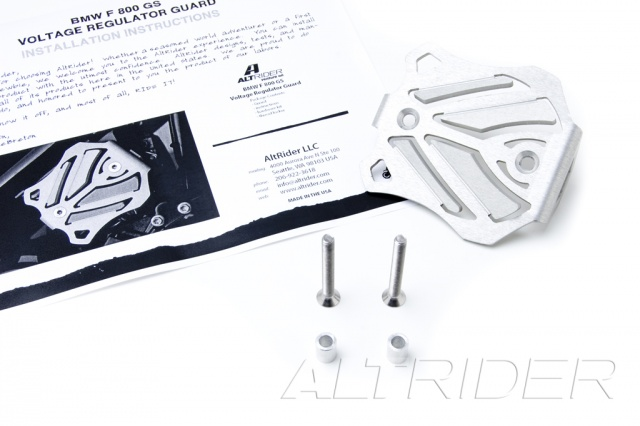 AltRider Voltage Regulator Guard Kit for BMW F 650 GS Twin  - Product Contents