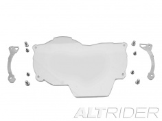 AltRider Clear Headlight Guard Extended Lens for the BMW R 1200 GS Water Cooled (2013-2016) - Silver - Feature
