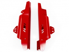 AltRider Fork Leg Guards for Honda CRF1000L and CRF1100L Africa Twin/ ADV Sports - Red - Feature