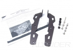 AltRider Luggage Rack Brackets for R 1200 GS (2003-2012) - Black - Feature