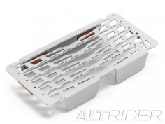 AltRider Oil Cooler Guard for the BMW S 1000 XR - Silver - Feature