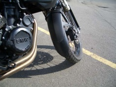 Fenda Extenda - Front Fender Extenders - BMW F650 Twin - Feature