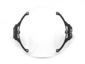 AltRider Clear Headlight Guard for the Triumph Bonneville / T100 - Feature